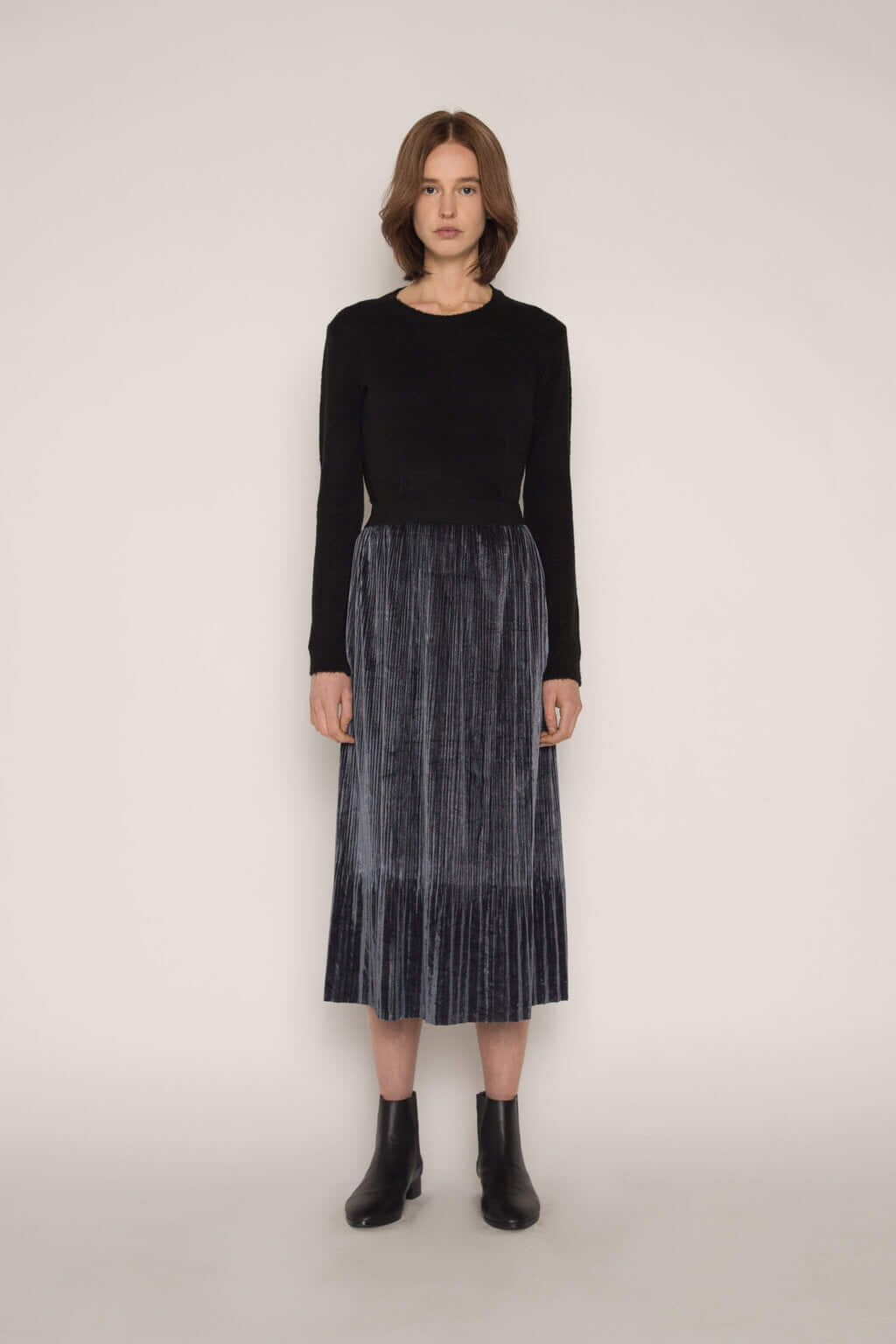 Skirt H147 Dark Navy 1