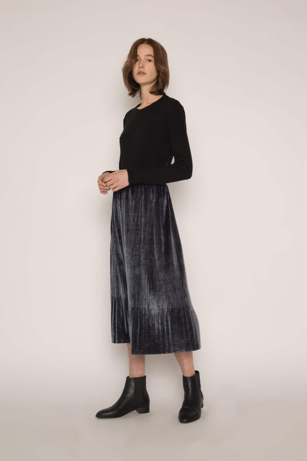 Skirt H147 Dark Navy 3