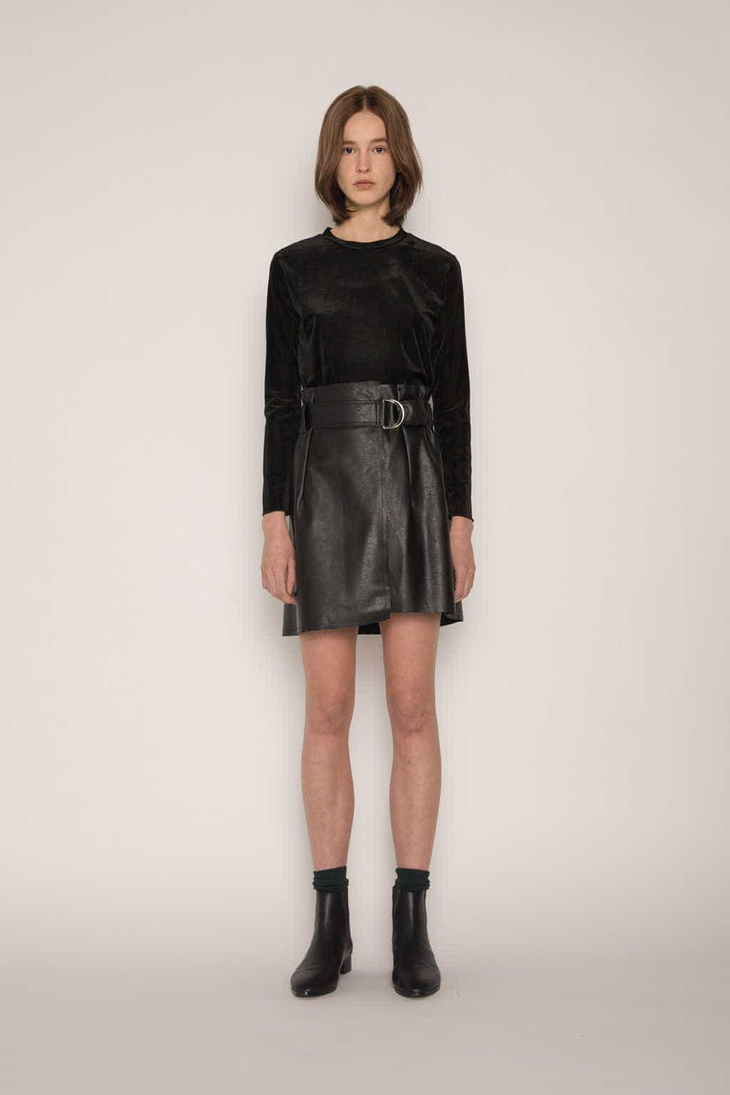 Skirt H152 Black 1