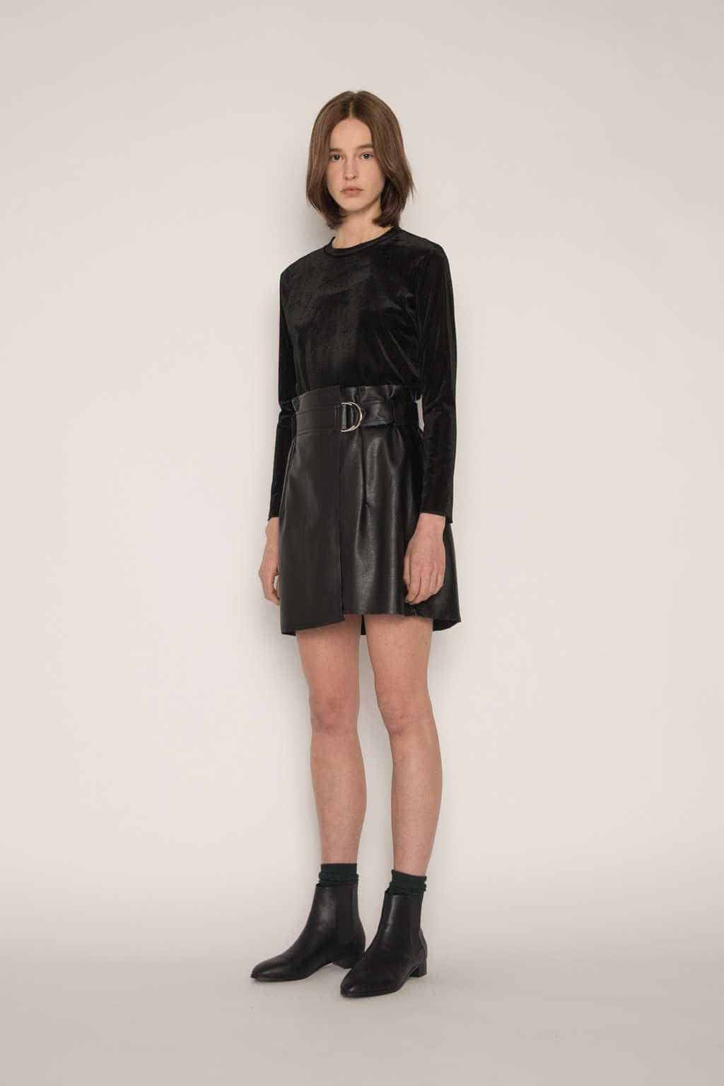 Skirt H152 Black 3
