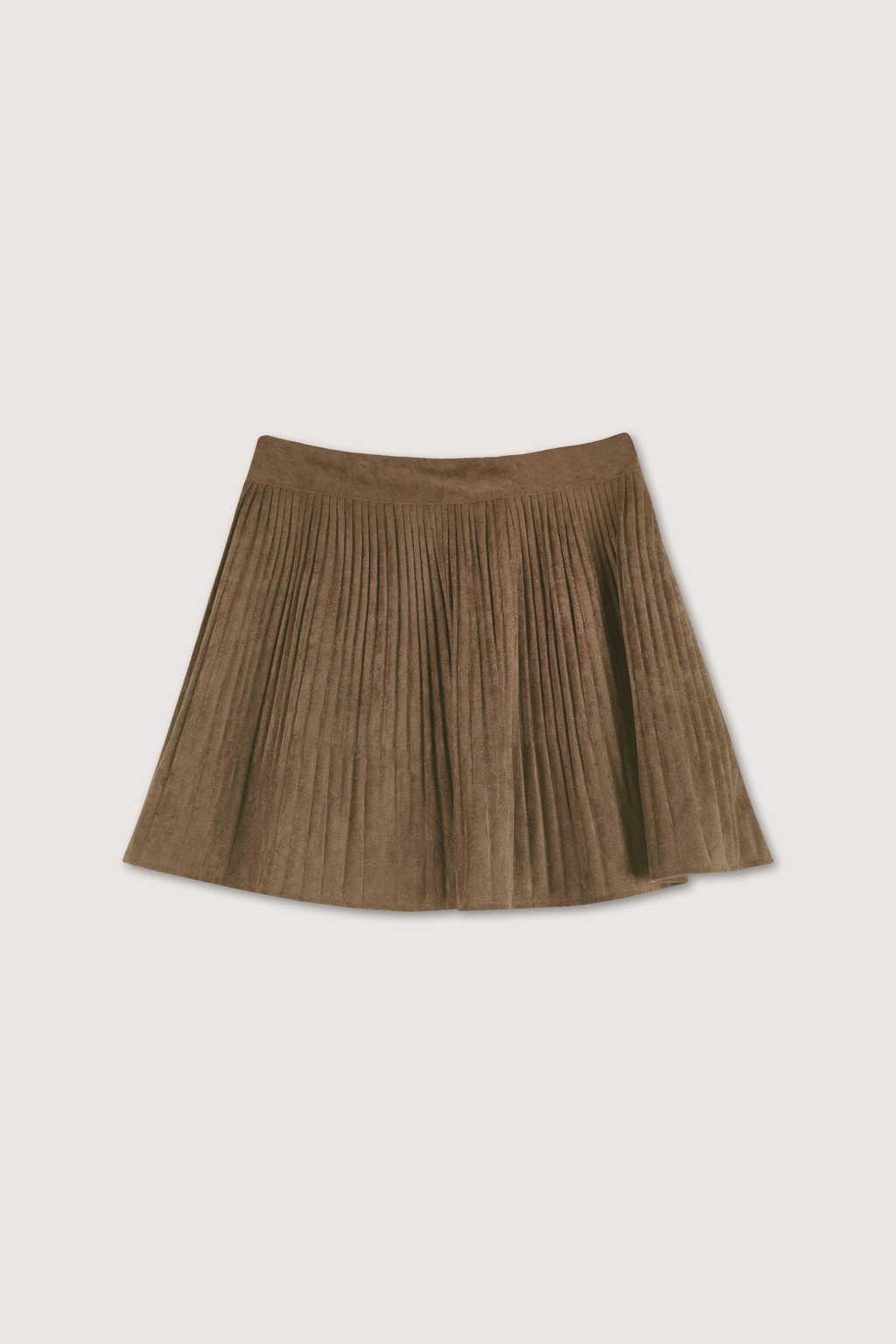 Skirt H153 Brown 9