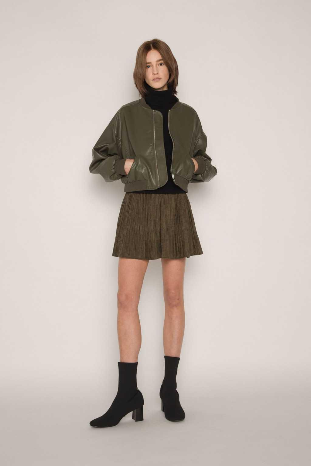Skirt H153 Olive 1