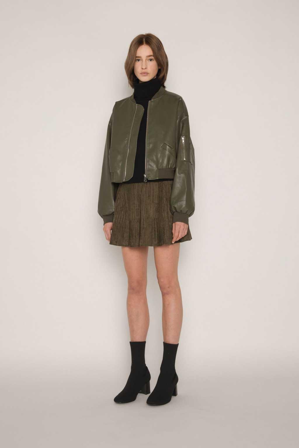 Skirt H153 Olive 2