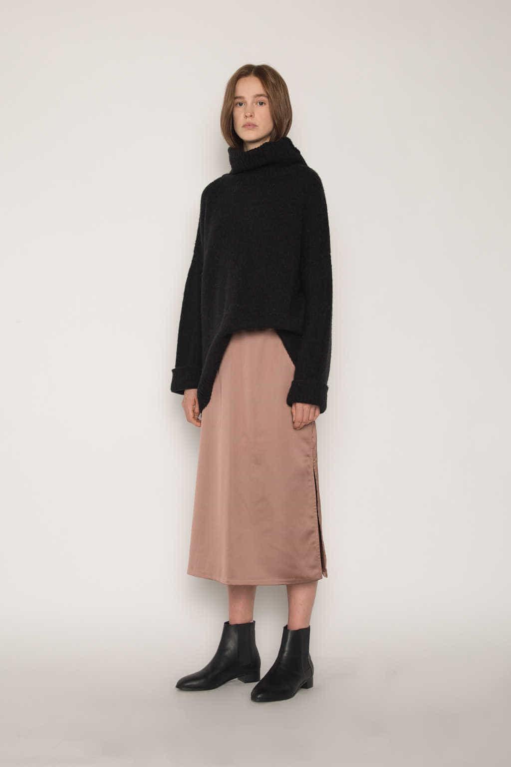 Skirt H162 Brown 2