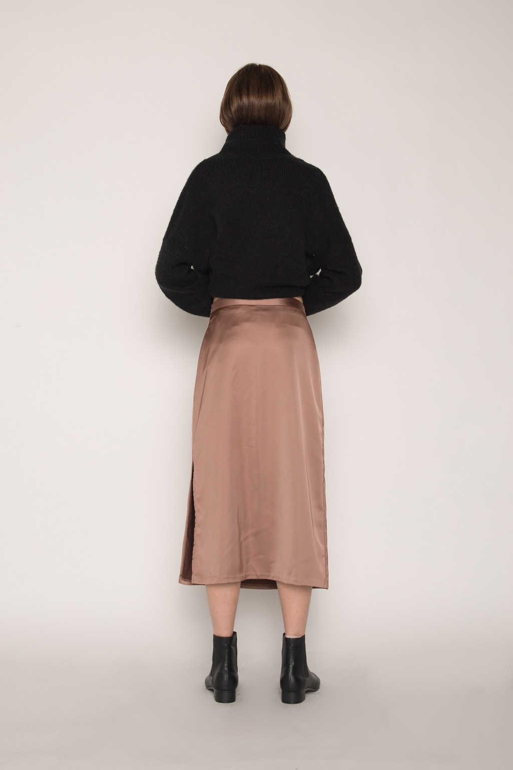 Skirt H162 Brown 4
