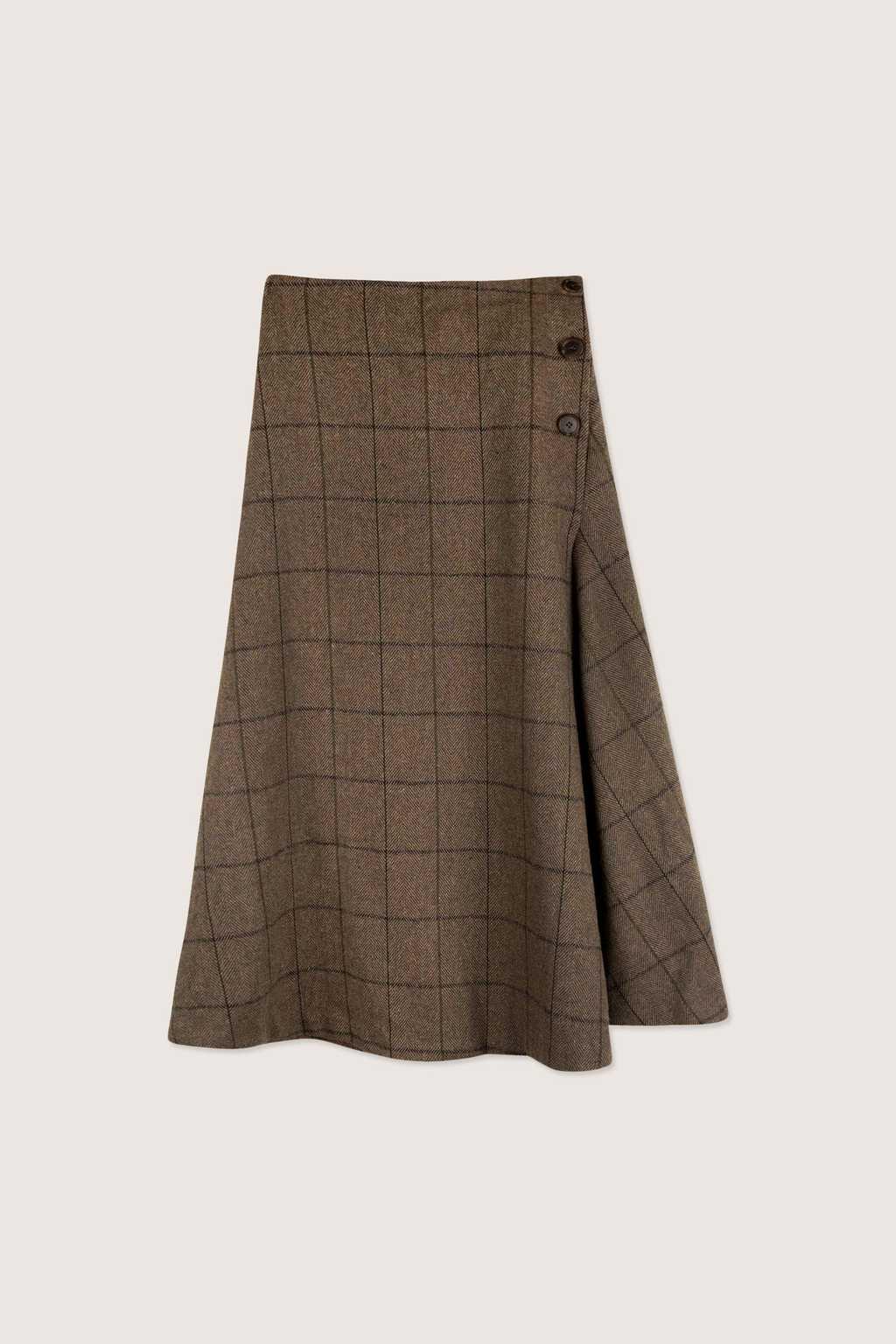 Skirt H176 Brown 5
