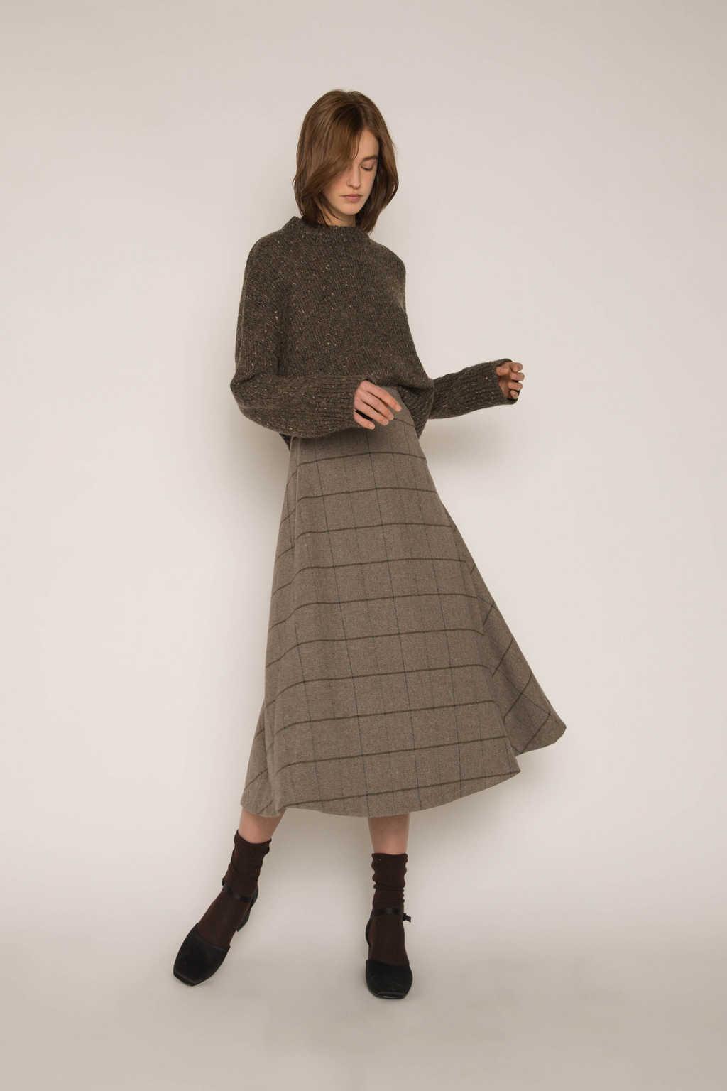 Skirt H176 Gray 2