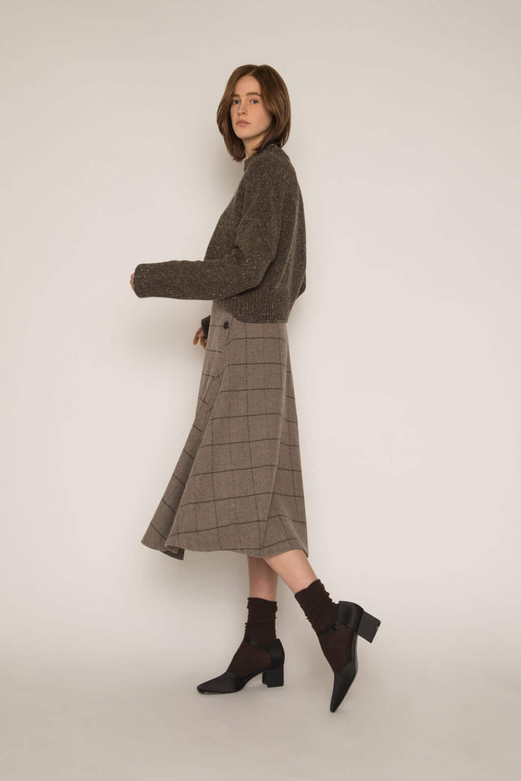 Skirt H176 Gray 3