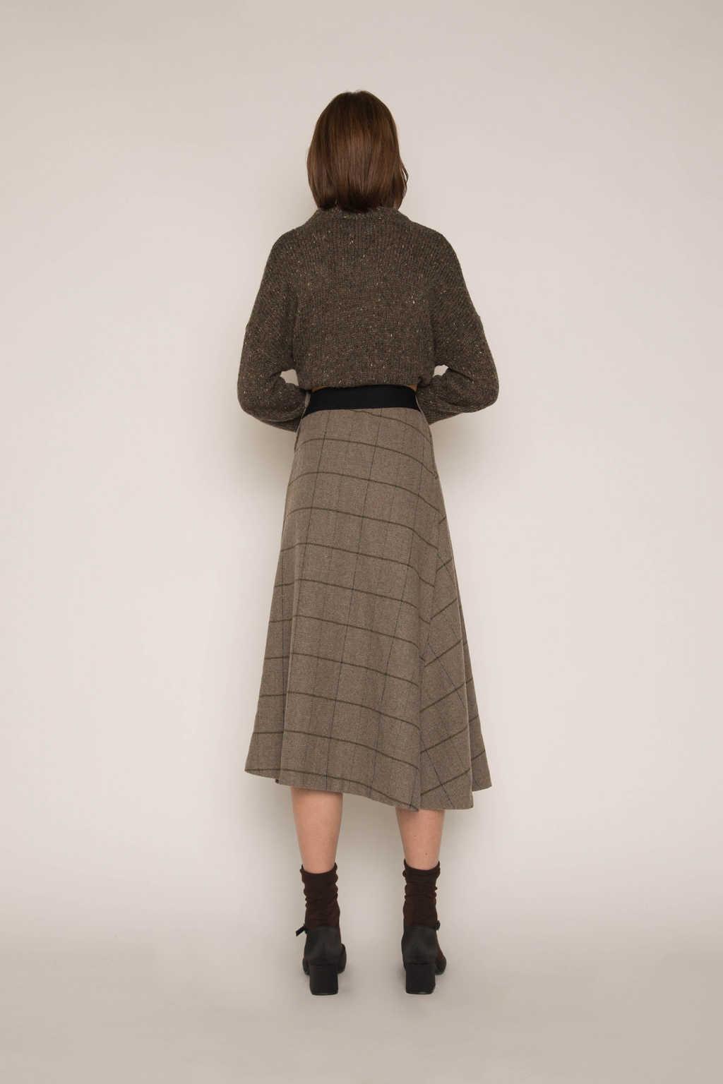 Skirt H176 Gray 4
