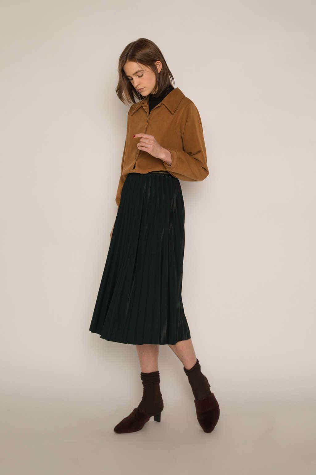 Skirt H180 Green 1