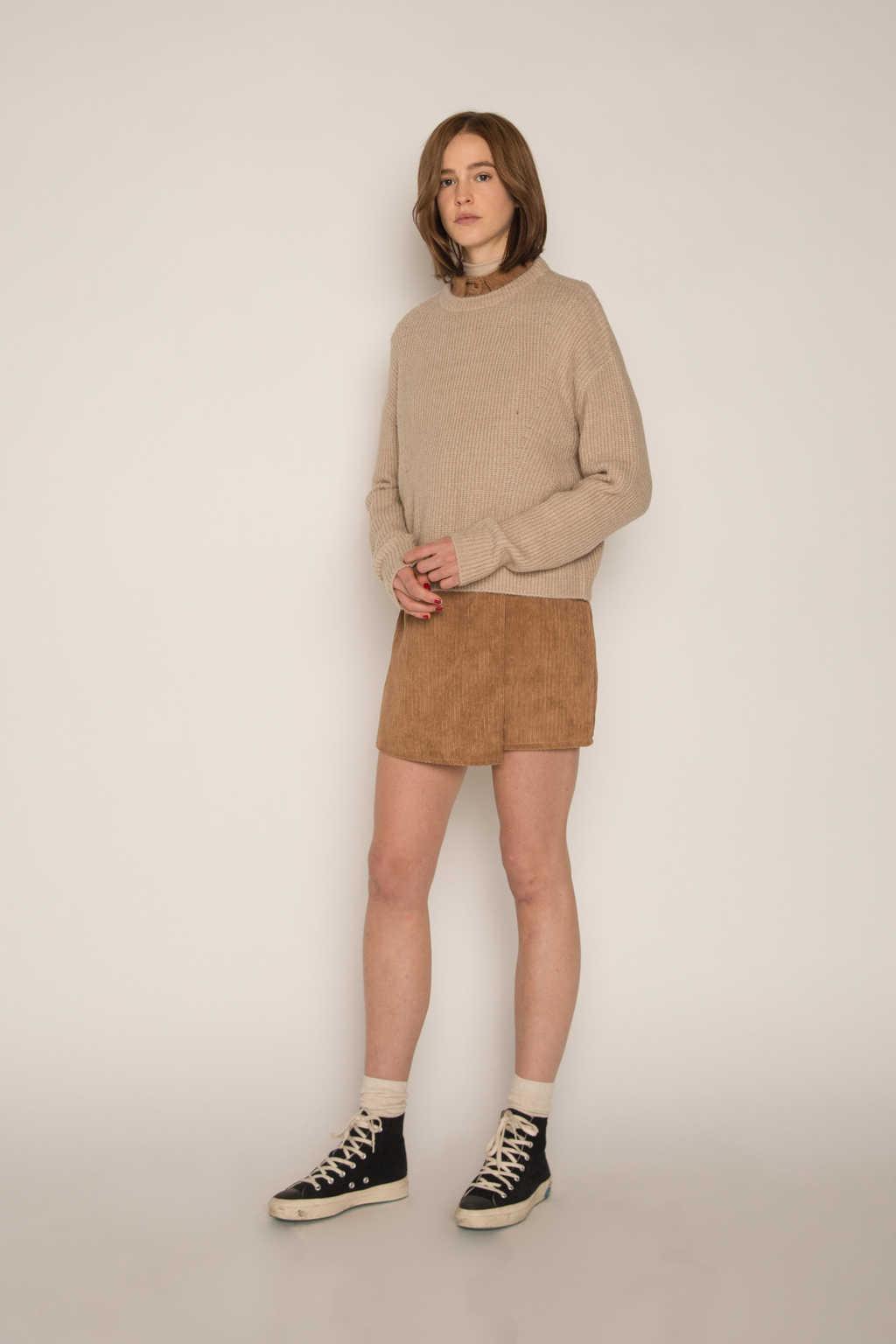 Skirt H186 Brown 1