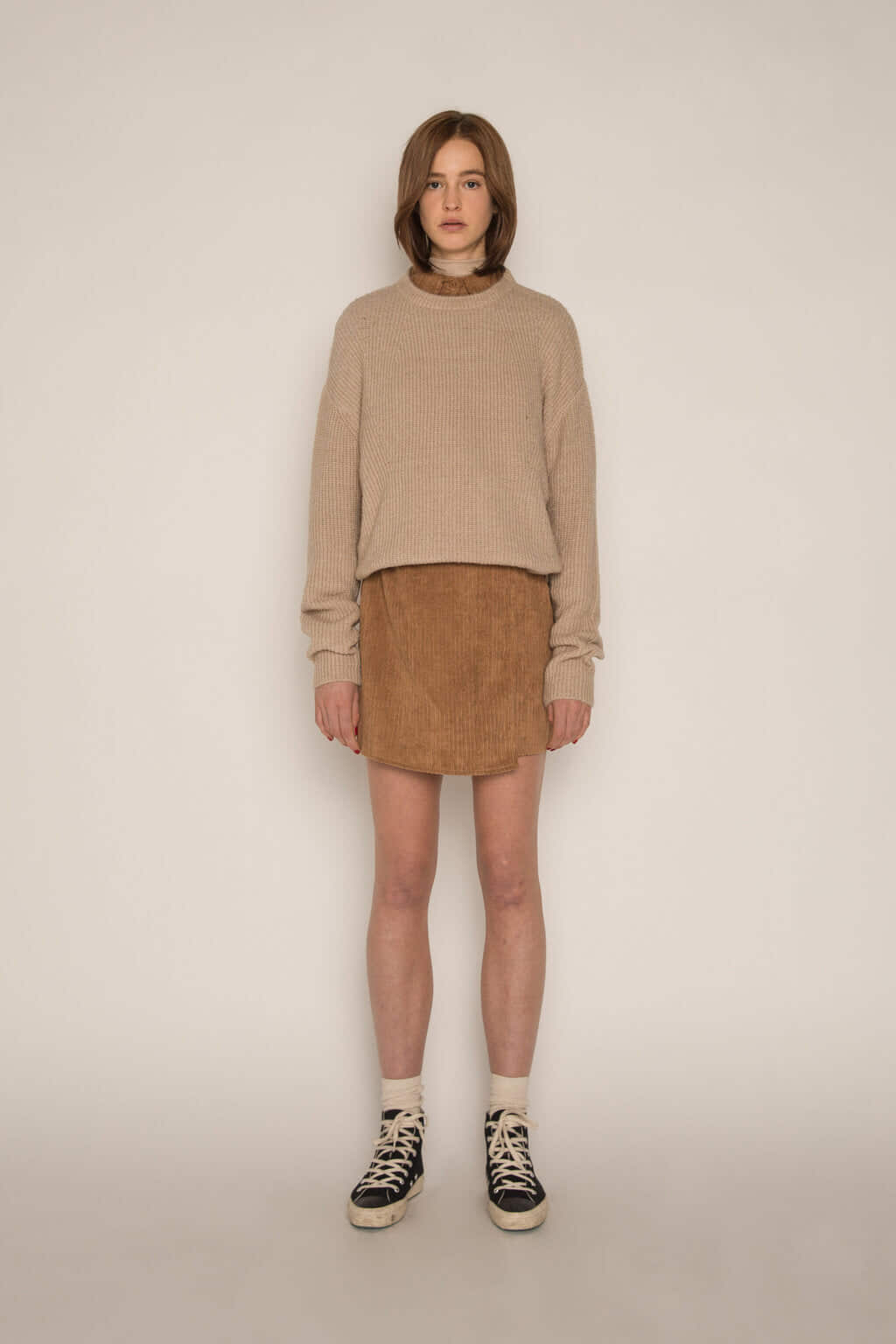 Skirt H186 Brown 2