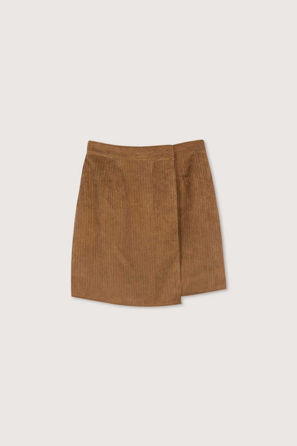 Skirt H186 Brown 5