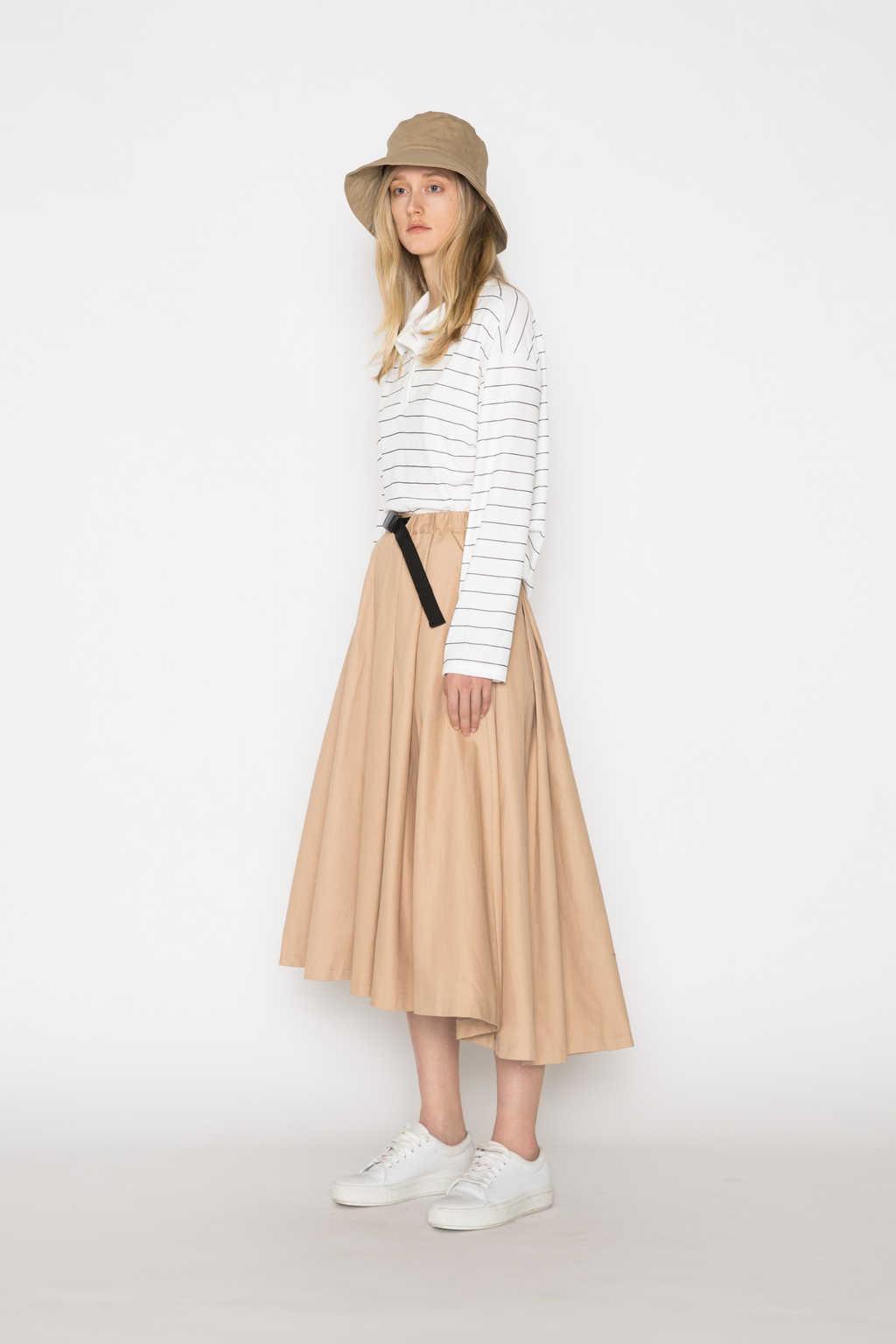 Skirt H208 Beige 2