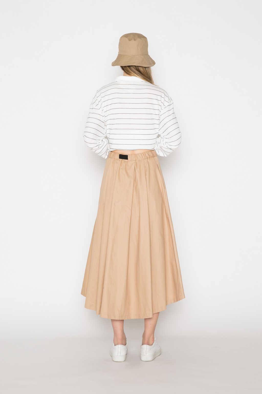 Skirt H208 Beige 4