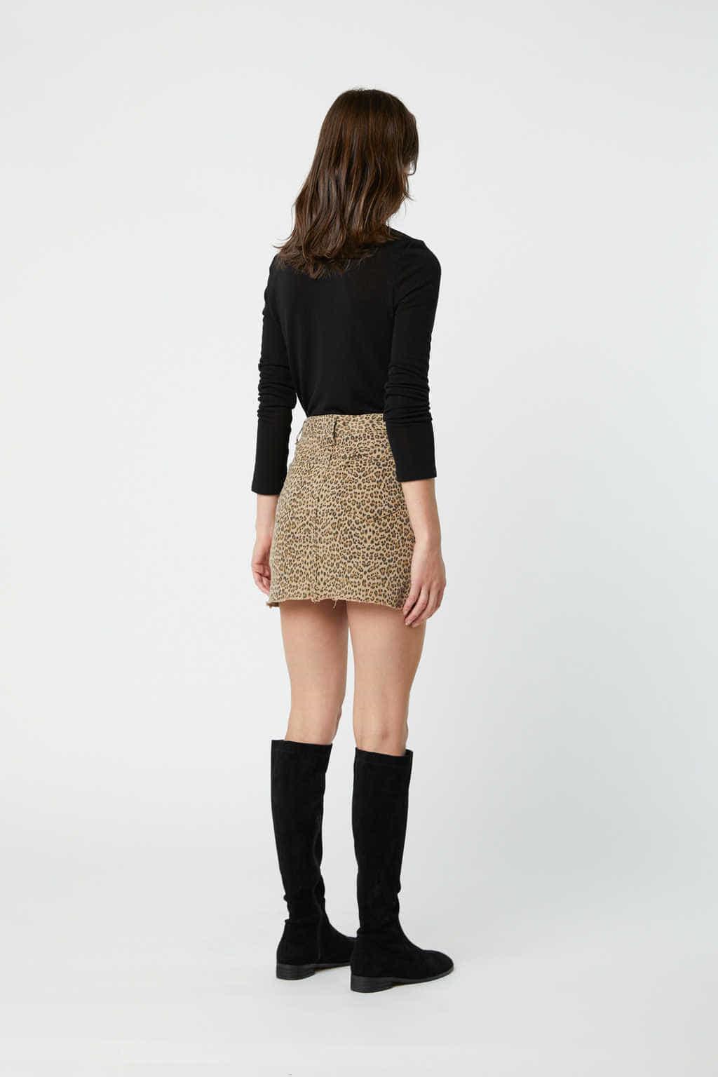 Skirt J002K Beige 5
