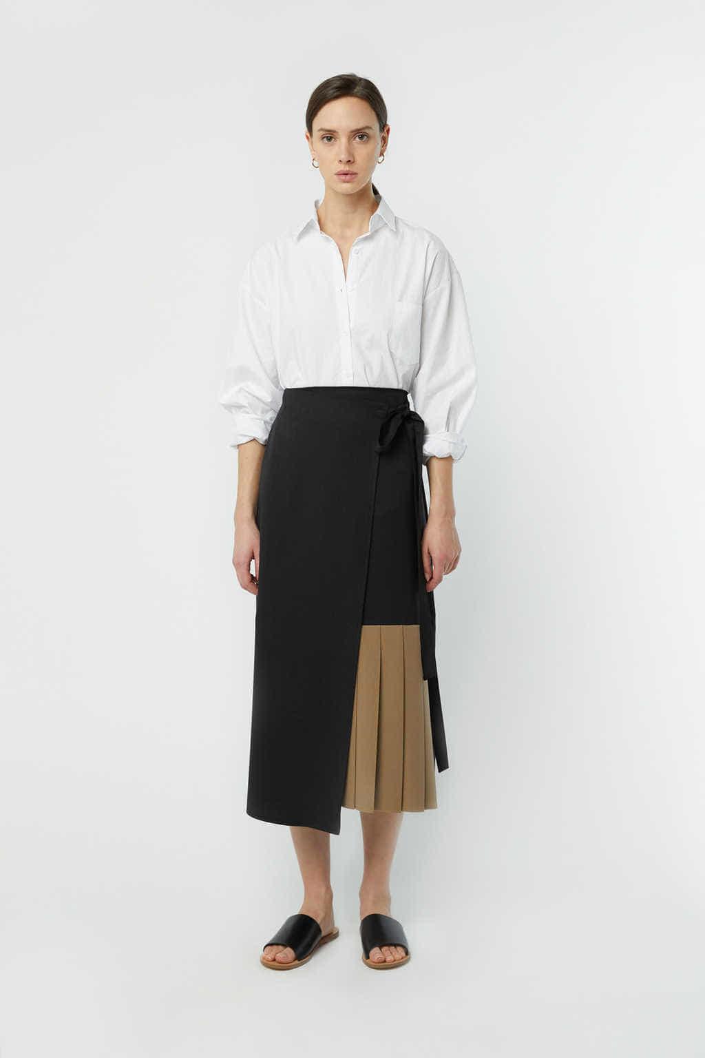 Skirt K001 Beige 3