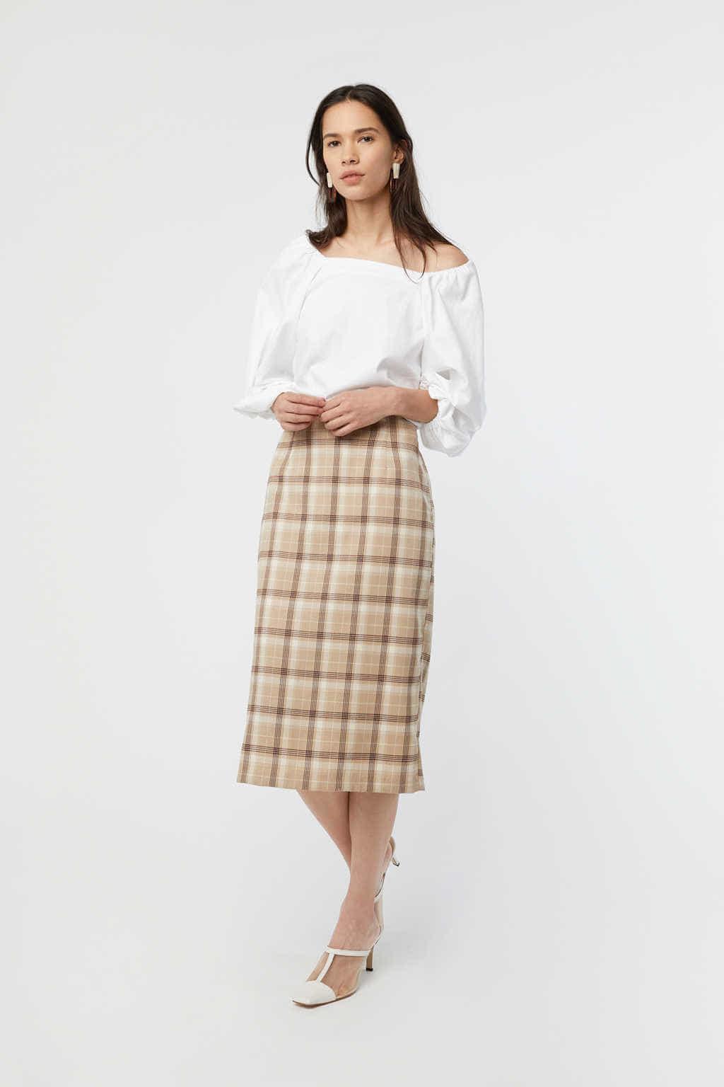 Skirt K002 Beige 1