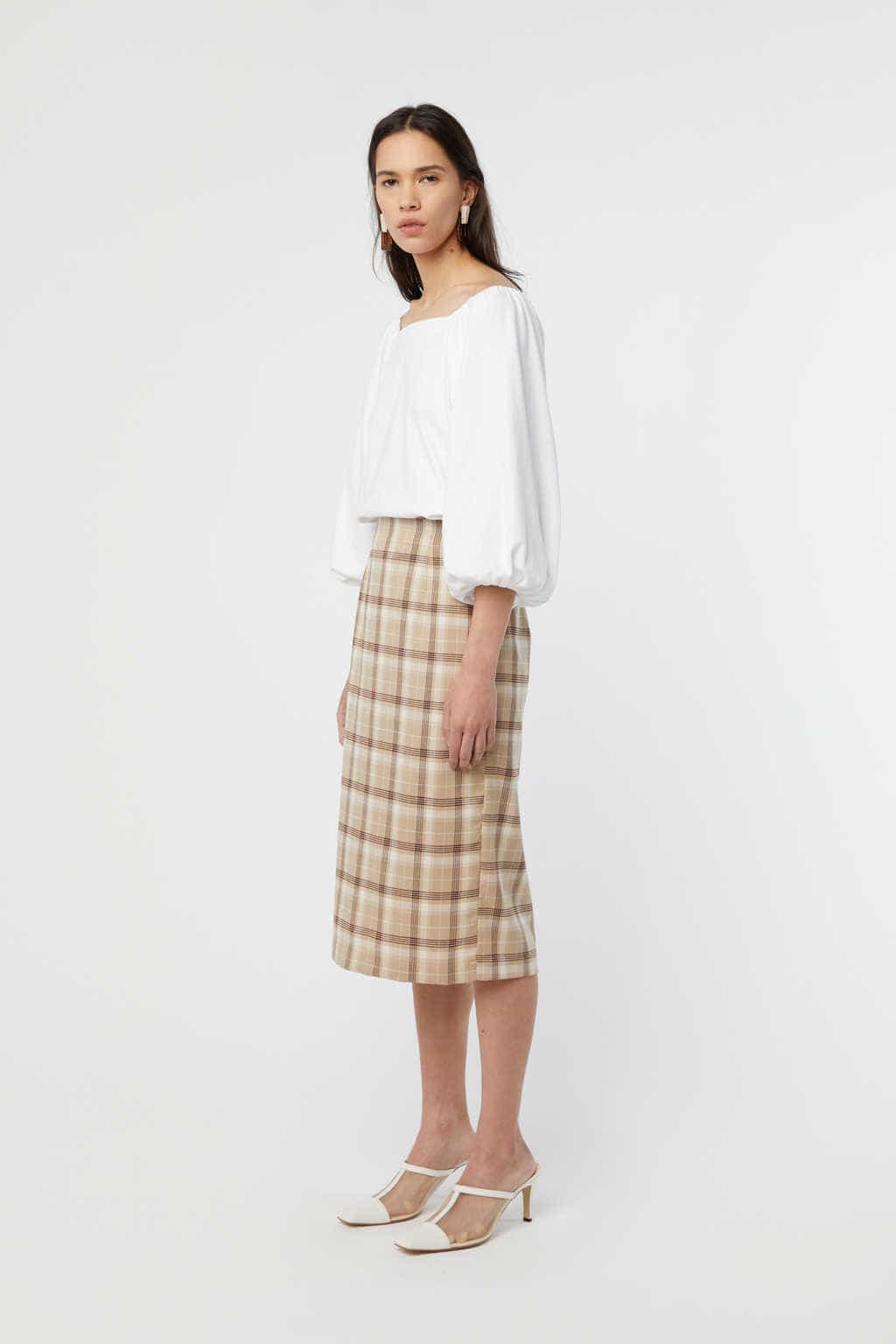 Skirt K002 Beige 2