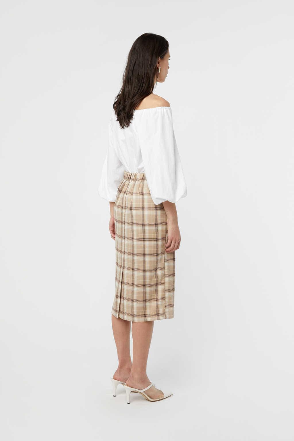 Skirt K002 Beige 4