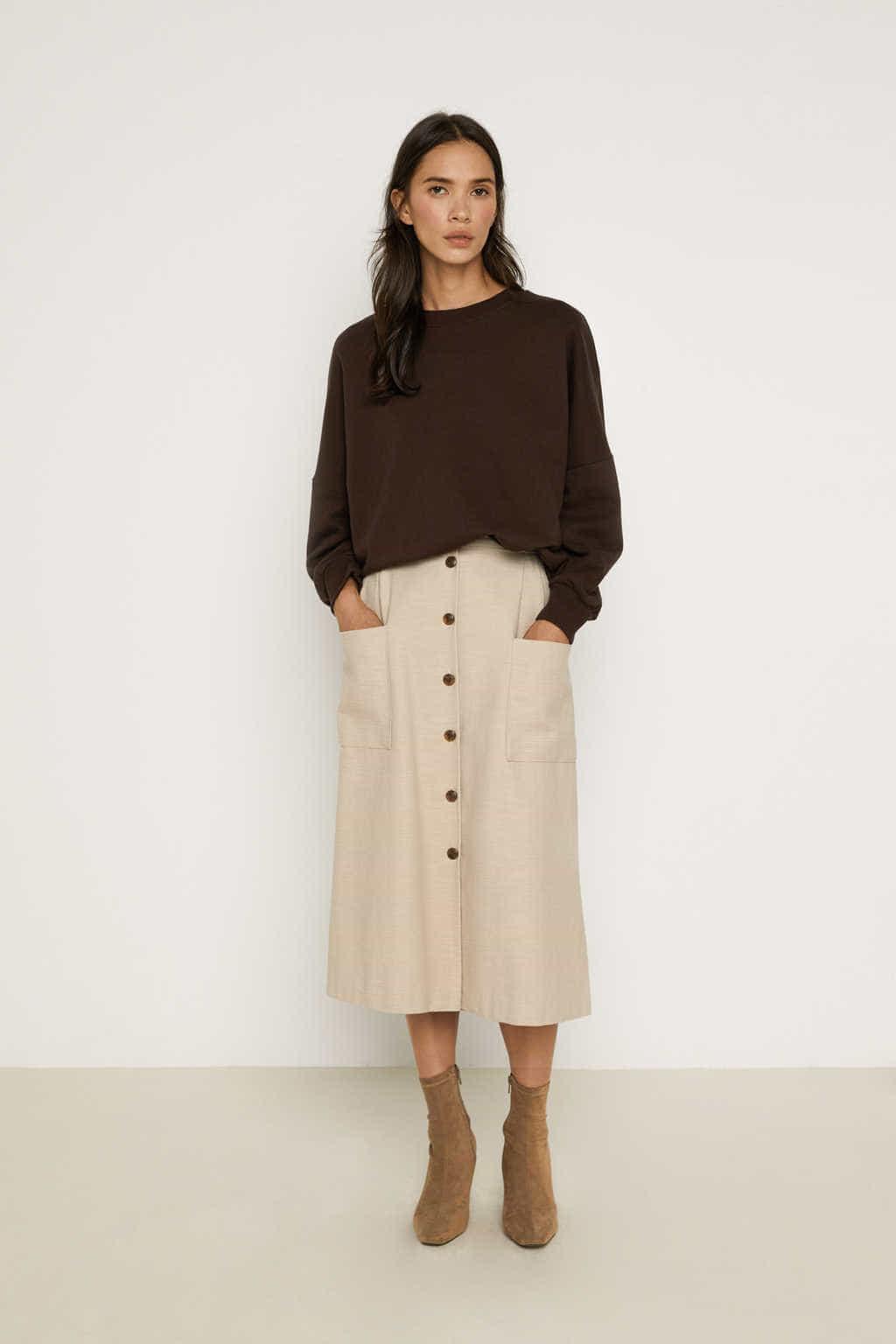 Skirt K003 Beige 1
