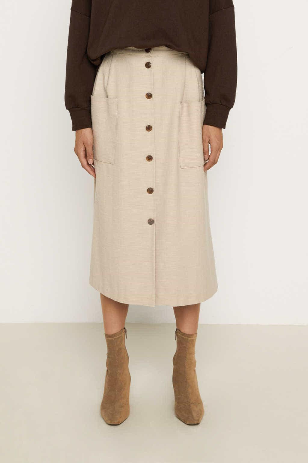 Skirt K003 Beige 3