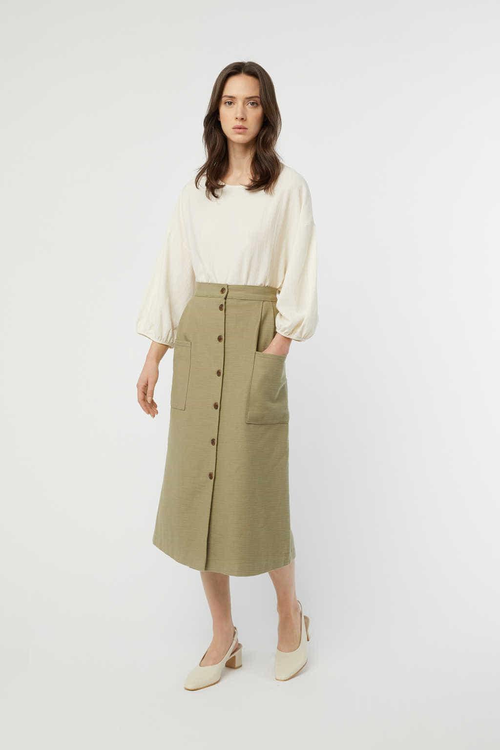 Skirt K003 Olive 8