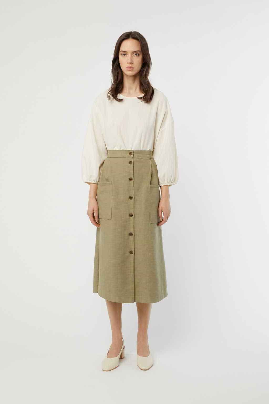Skirt K003 Olive 9