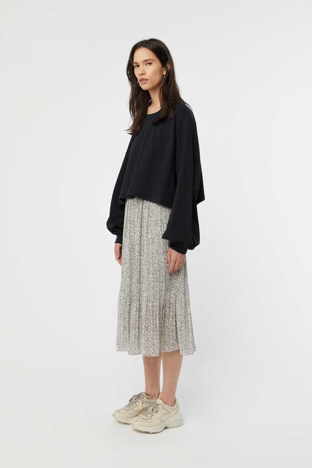Skirt K004 Cream 3
