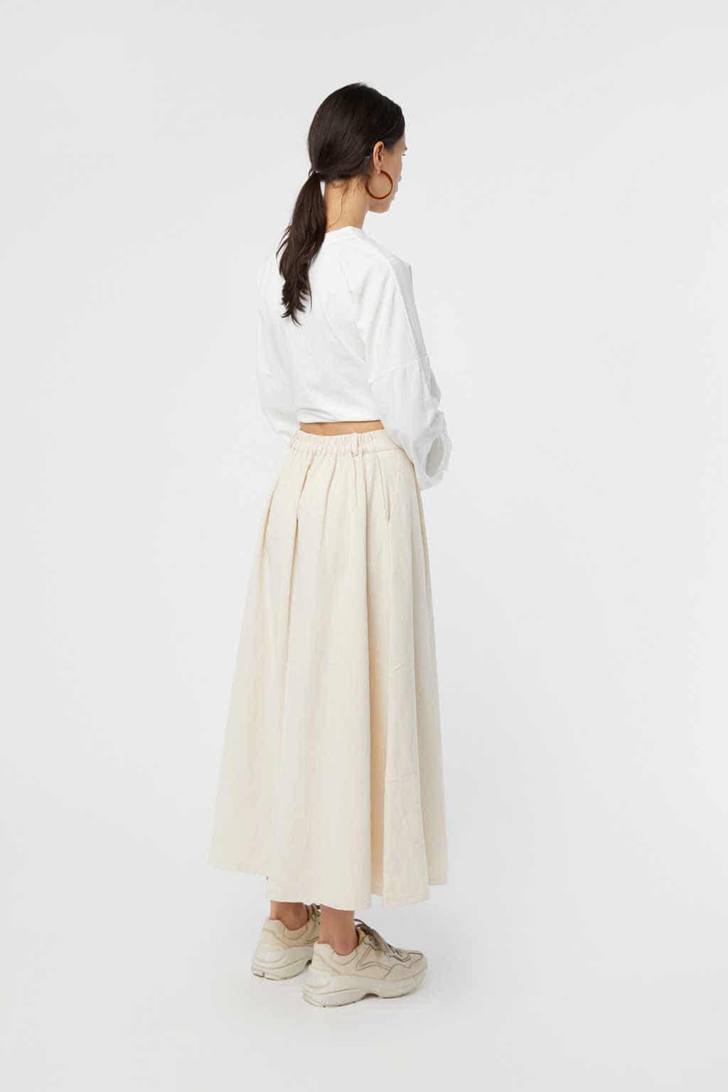 Skirt K006 Cream 4