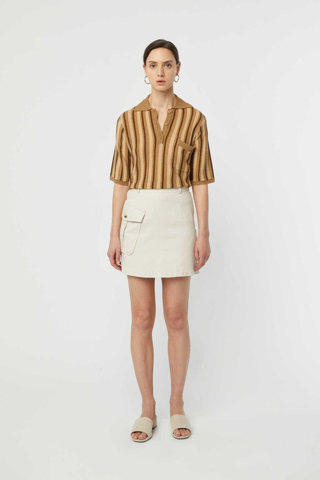 Skirt K007 Beige 1