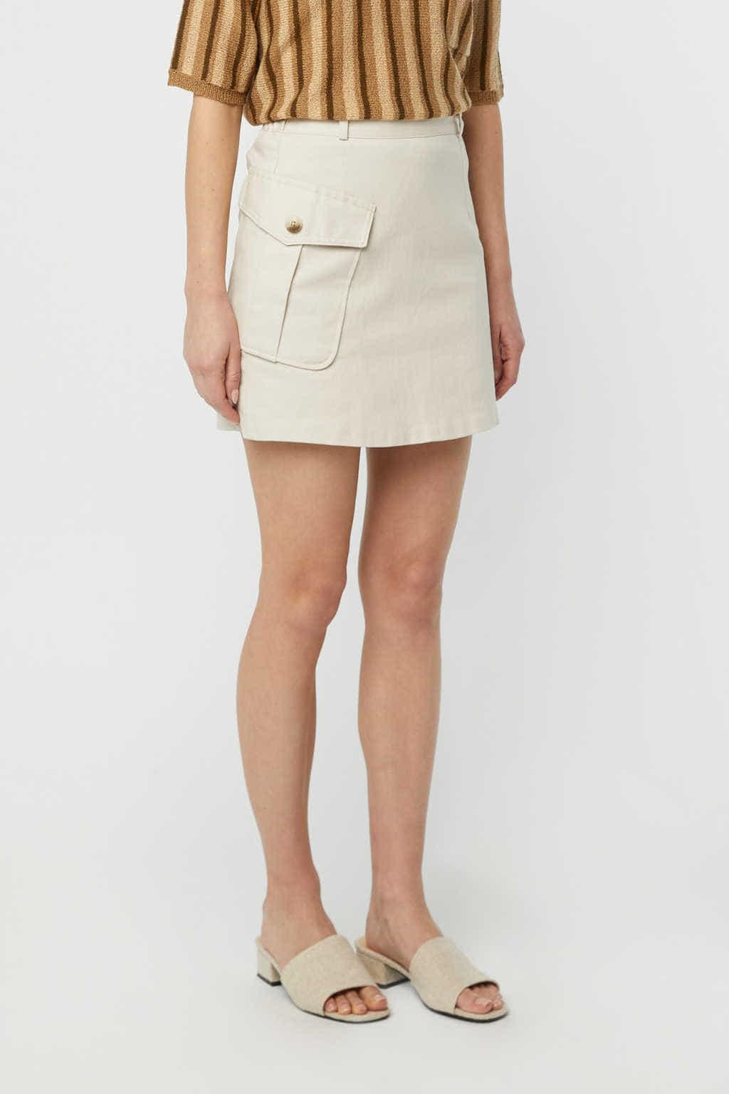 Skirt K007 Beige 2