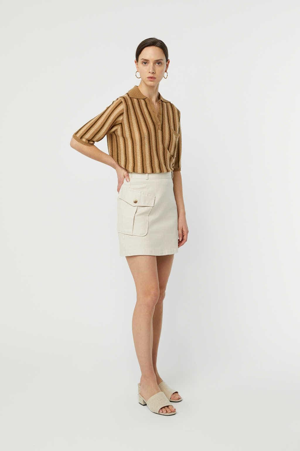 Skirt K007 Beige 3