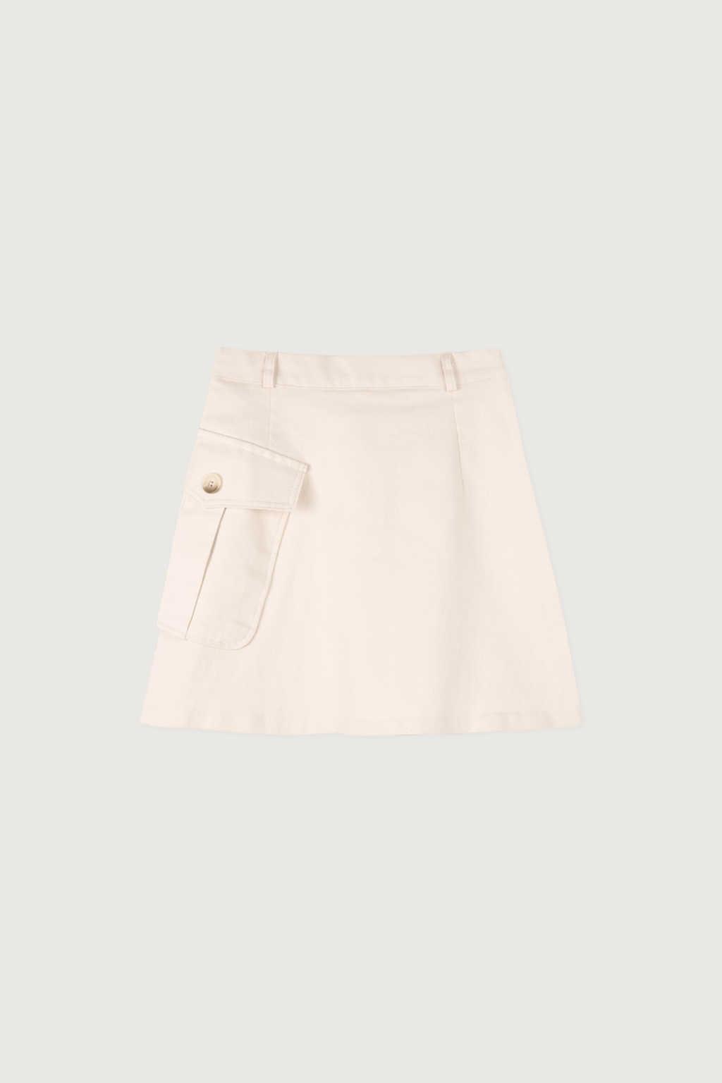 Skirt K007 Beige 5