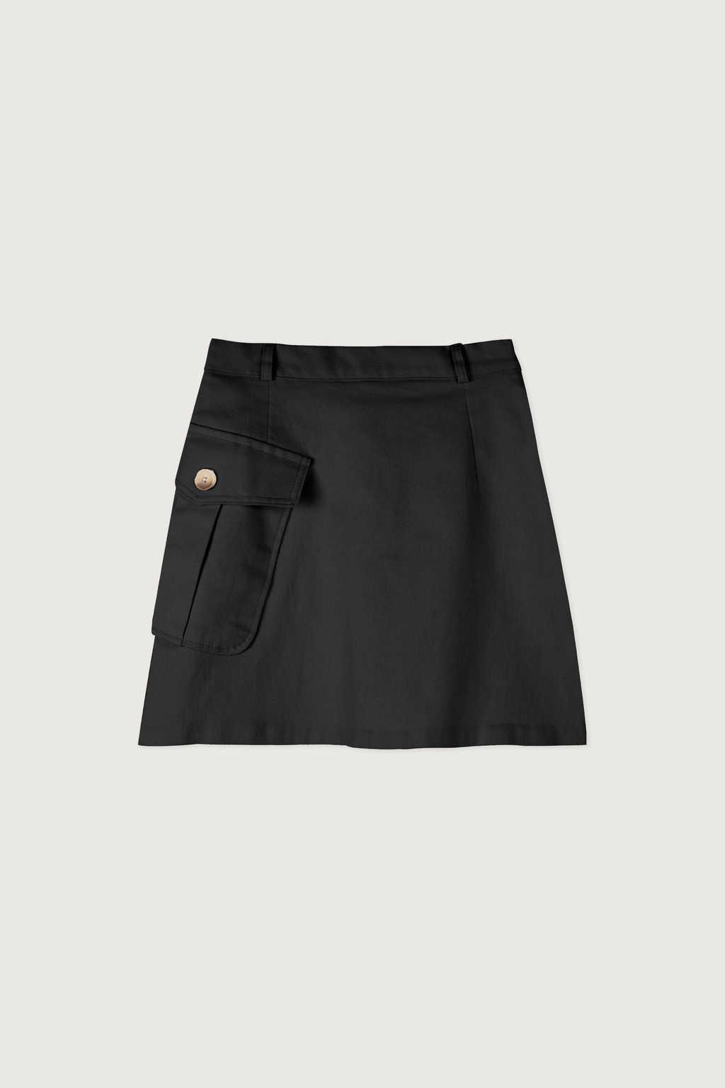 Skirt K007 Black 7