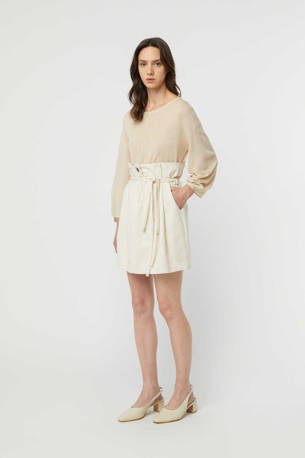 Skirt K008 Beige 1