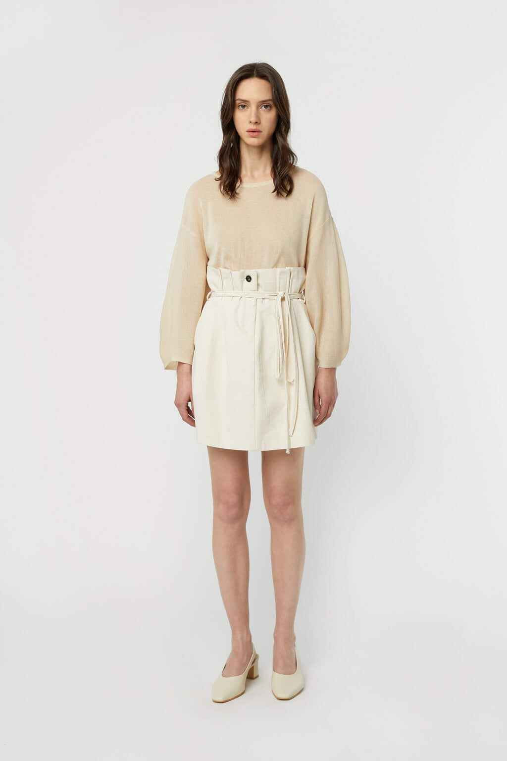 Skirt K008 Beige 2