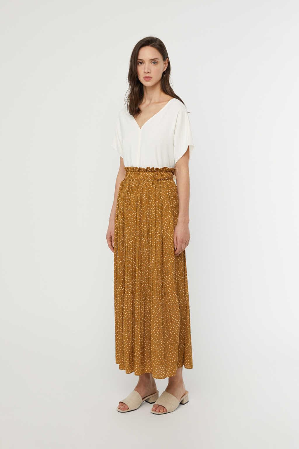 Skirt K009 Camel 2