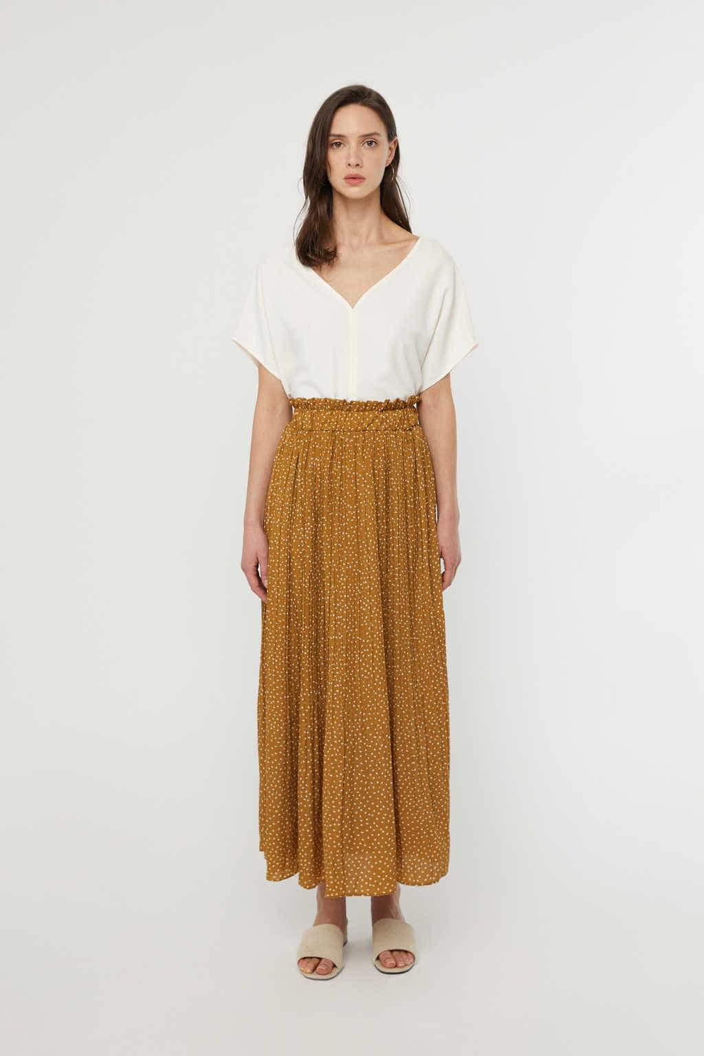 Skirt K009 Camel 3