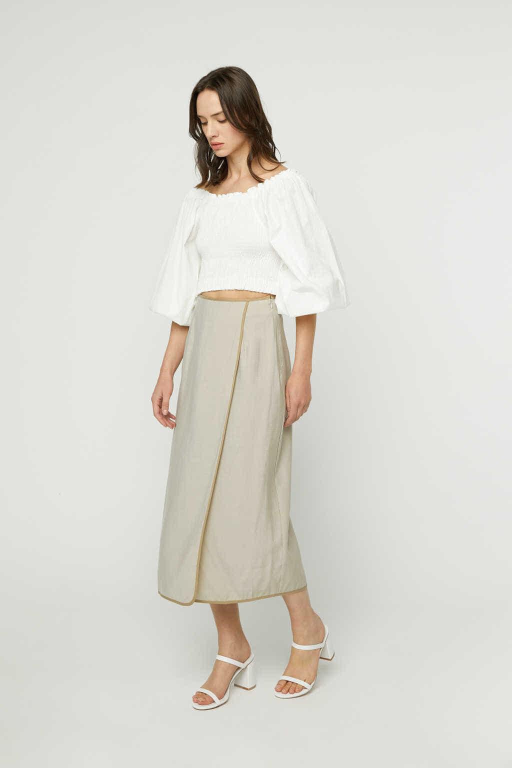 Skirt K024 Beige 1