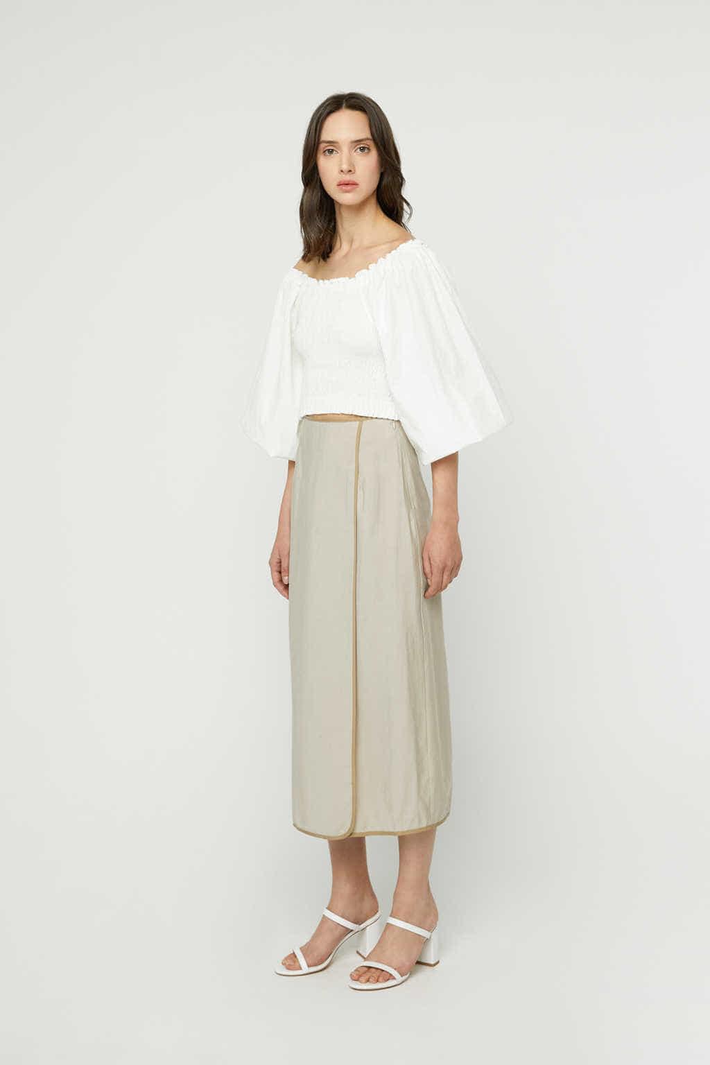 Skirt K024 Beige 2