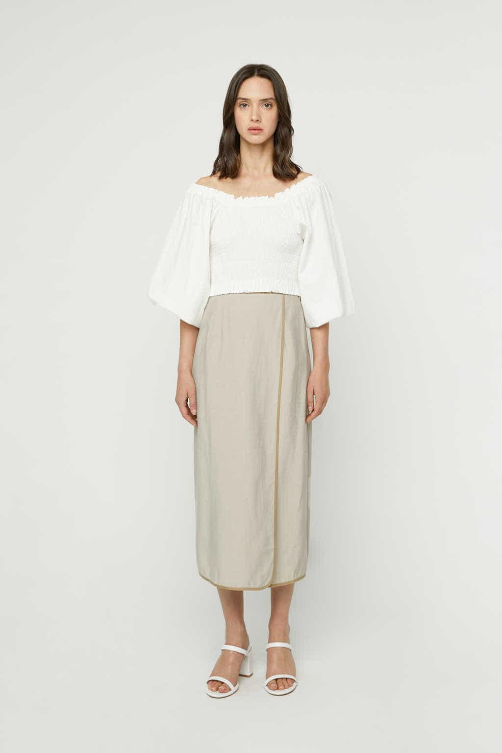 Skirt K024 Beige 3
