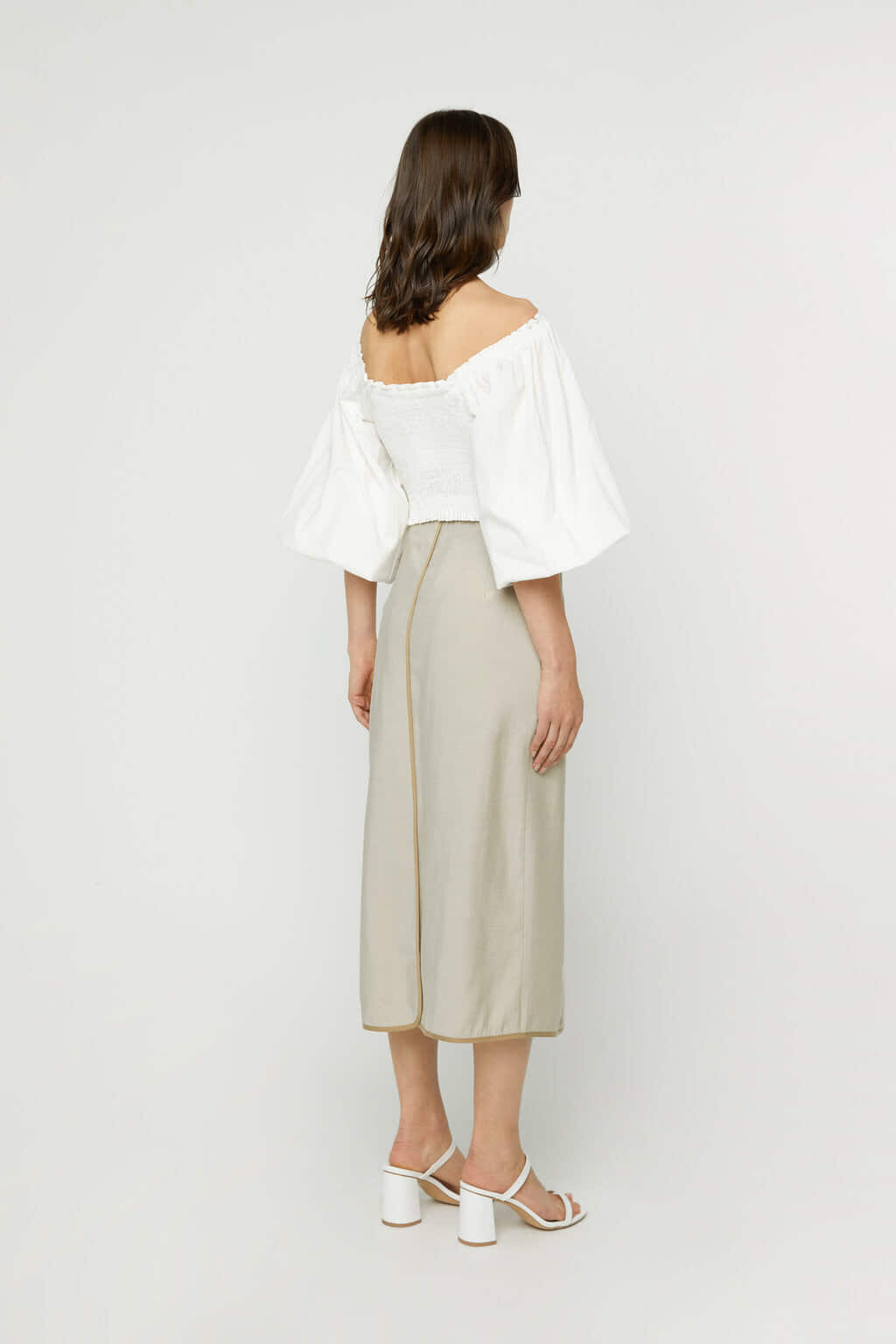 Skirt K024 Beige 4