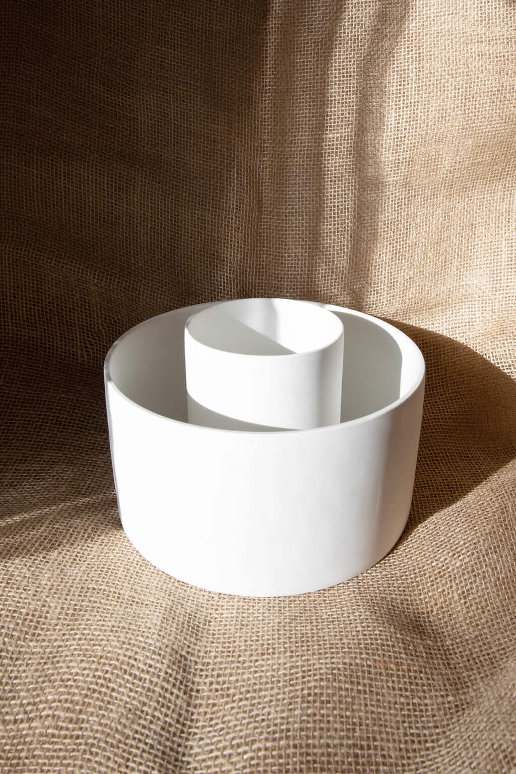 Slim Ceramic Planter 2946 White 3