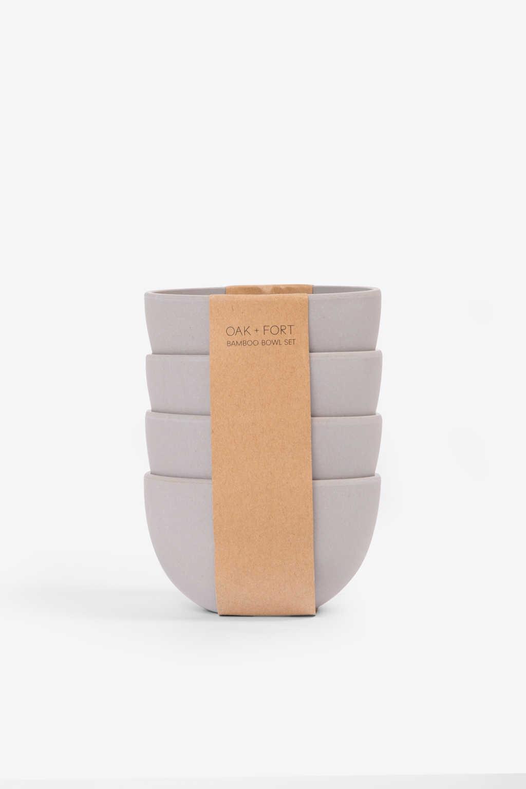 Small Bamboo Bowl Set 2854 Gray 2