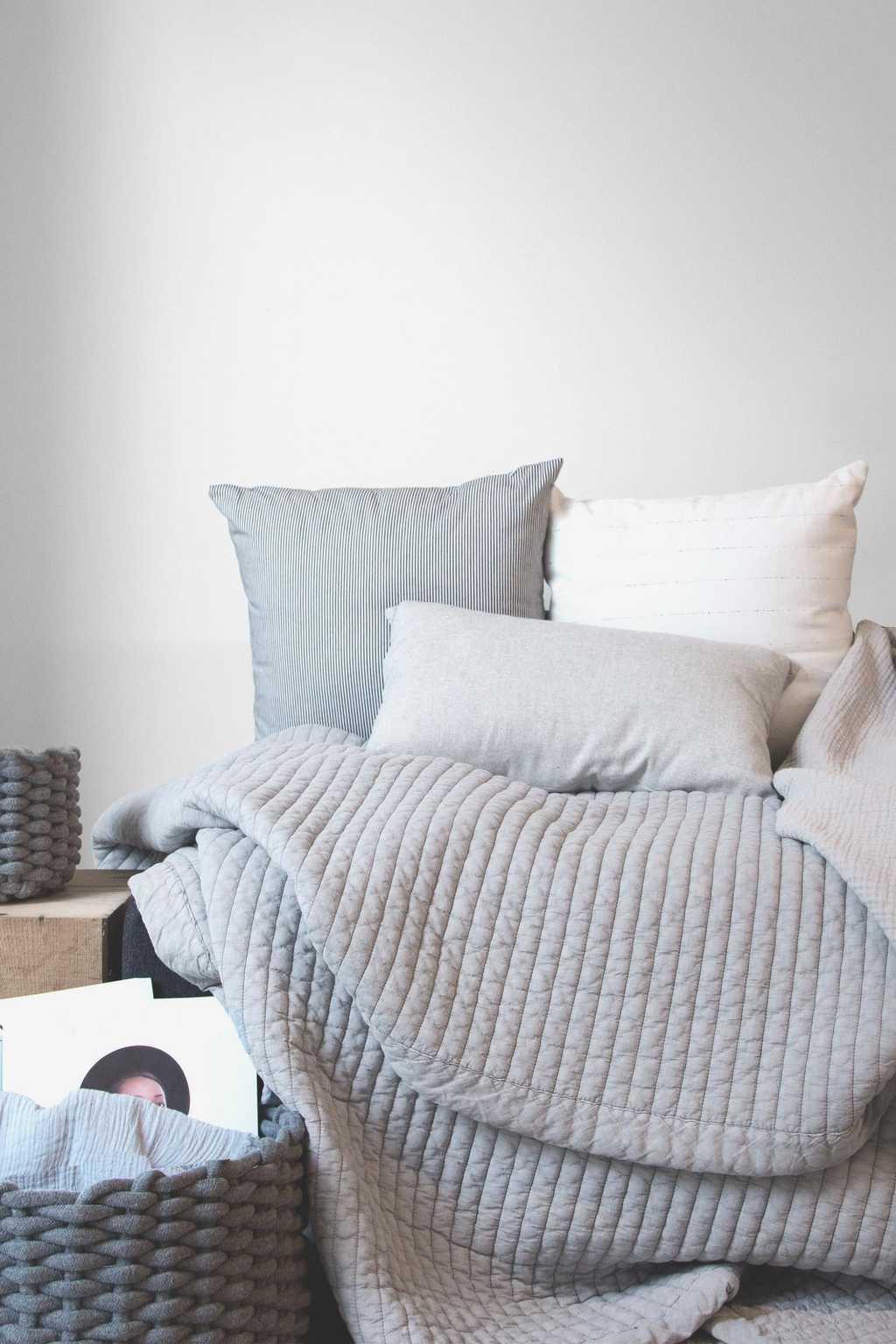 Striped Pillow 1844 Navy 3