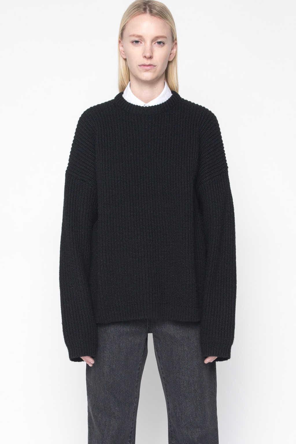 Sweater 1002 Black 3