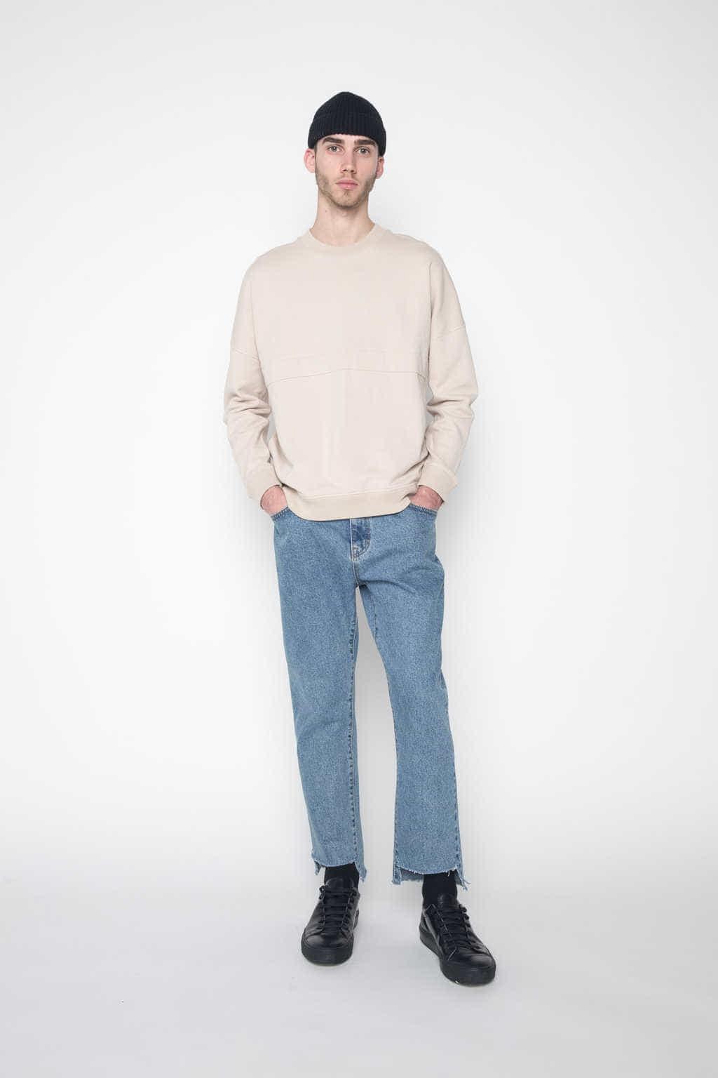Sweater 1028 Beige 1
