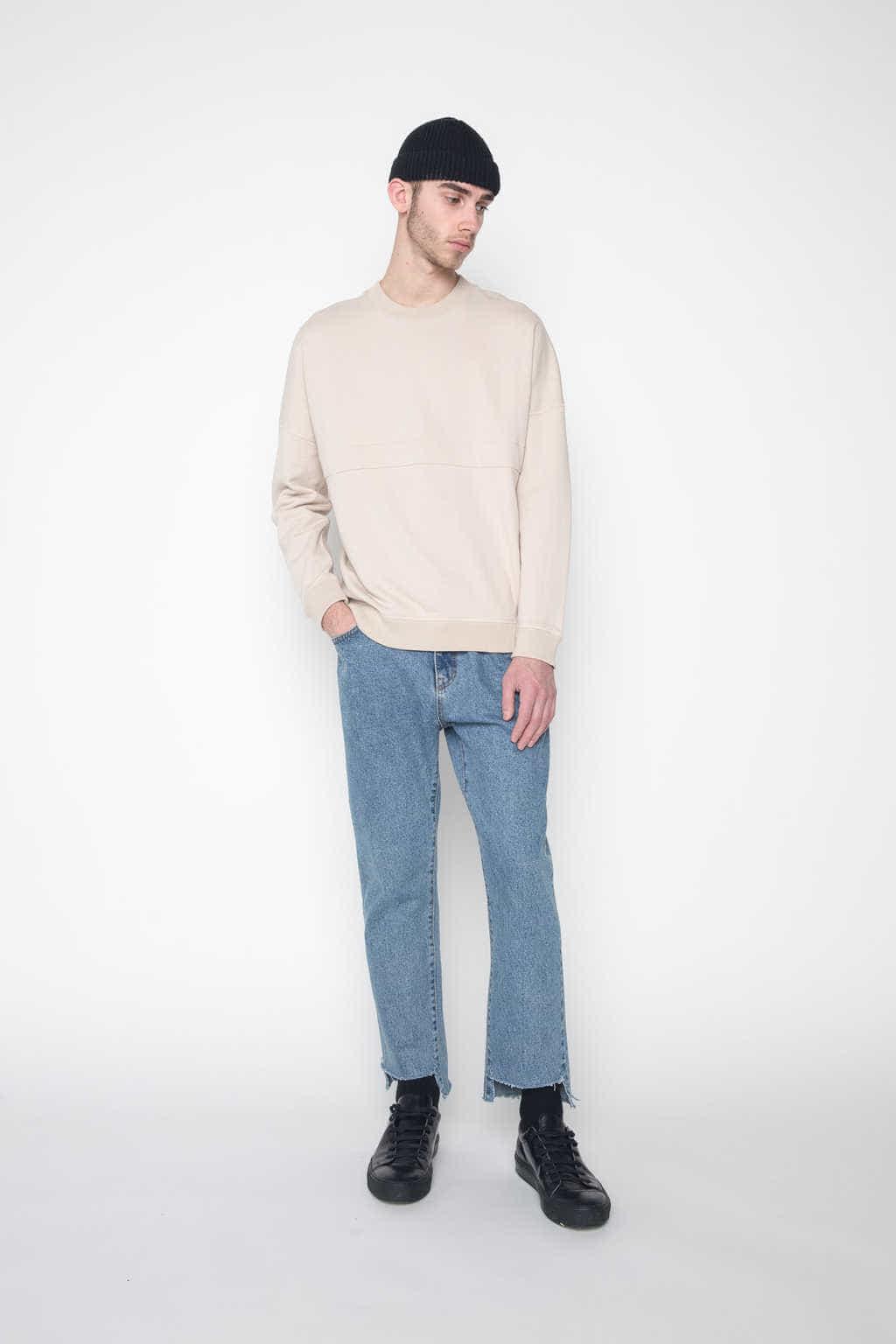 Sweater 1028 Beige 2