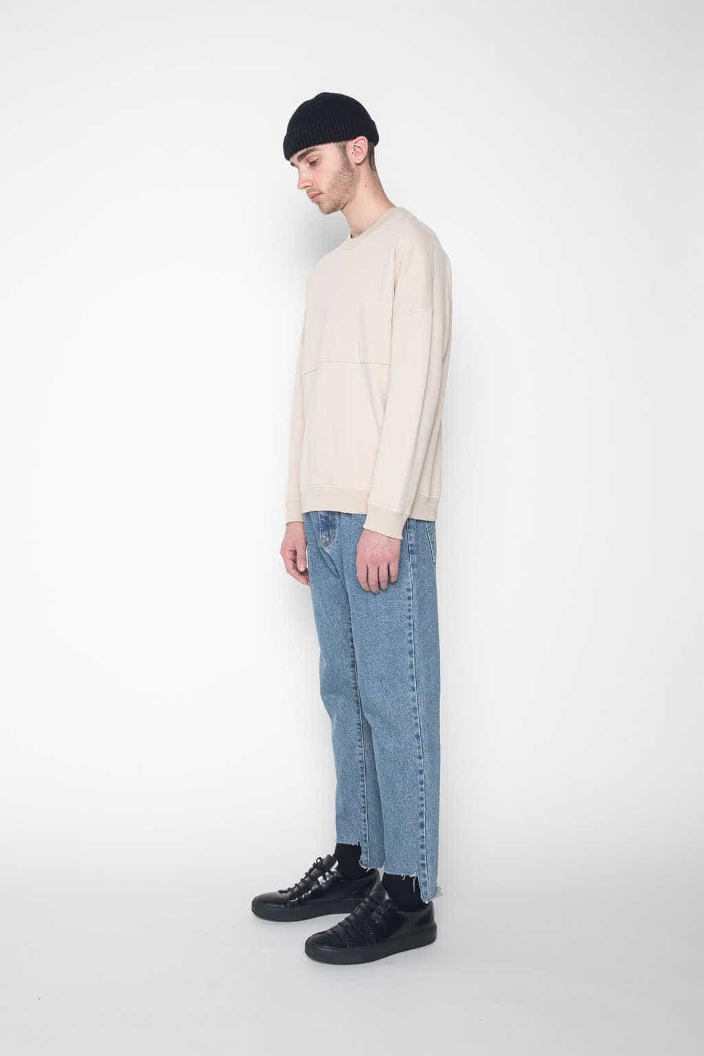 Sweater 1028 Beige 3